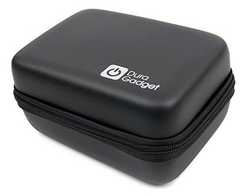 Schwarze Hartschalen Hülle für Rollei Actioncam 550 Touch | 372 | 630 | 625 | 610 | 530 | 525 | 510 | 426 | 416 | 420 | 410 | 400 | 300 und Add Eye Cam Action Kameras