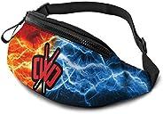 KIERAN HAYES CWC Chad Wild Clay Waist Bag Fitness Belt Bag Pack Pocket Pouch for Men Women Kids Teens