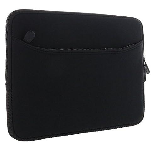 XiRRiX Tablet PC Tasche - Neopren Schutzhülle mit zusätzlichem Fach Grösse: bis 25,65 cm (10,1 Zoll) für max. Abmessungen von 270 x 195