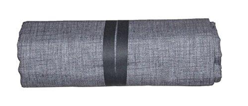 Ba grandfoulard-telo copritutto-copridivano- copriletto-tendaggio mod. tinta unita 240x260 cm colore grigio