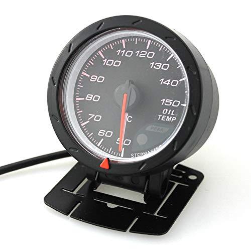 HH-Sensor Sensore 60mm 12V Car LED Misuratore di Temperatura Olio Indicatore di Temperatura del Veicolo 4-6- 8- Motori a Cilindro da 50 a 150 Gradi Celsius
