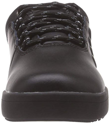 San-Chef Lace Shoe-O2 Scarpe Antinfortunistiche Unisex - Adulto, Nero (Schwarz (Black 2)), 36 EU Sanita