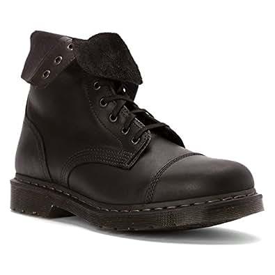 Dr.Martens Mens Hayes Black Leather Boots 41 EU