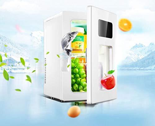 STRTT Tragbar Mini Kühlschrank, Mini Gefrierfach,Große Kapazität 10L,Auto und Heimgebrauch,mit Kühl- und Heizfunktion,Geräuscharm Geeignet für Schlafzimmer, Büro,Reisen im Freien -