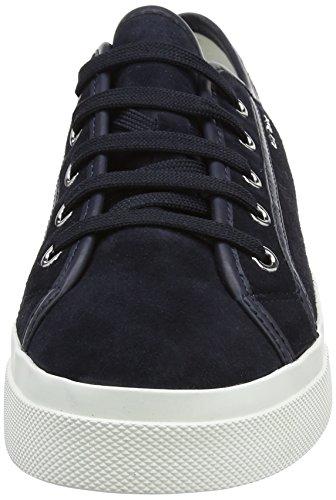 Geox  D Hidence A, Sneakers Basses femme Bleu (Dk Navy/Navyc4174)