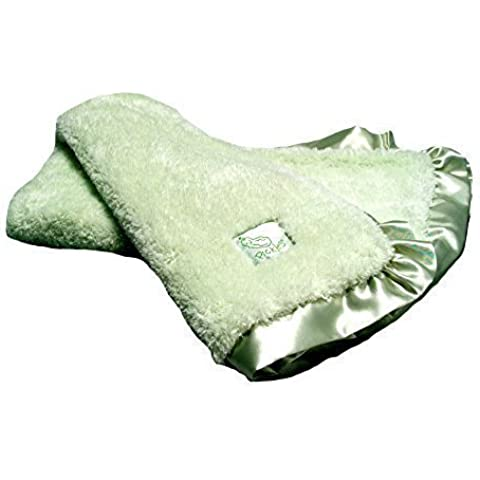 Pickles - Cloud - Green - Baby Blanket by Scene Weaver