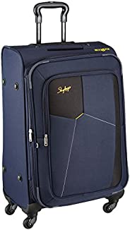 Skybags Rubik Polyester 58 Cms Blue Softsided Cabin Luggage (STRUW58EBLU)