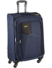 Skybags Rubik Polyester 58 Cms Blue Softsided Cabin Luggage (STRUW58EBLU)