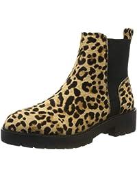 Steve Madden Gliding Bootie (Leopard), Chelsea Boots Femme