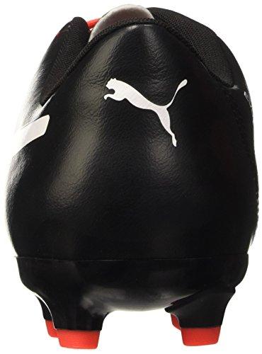 Puma Evopower 4.3 Fg, Scarpa da Calcio Uomo Red Blast/Puma White/Puma Black
