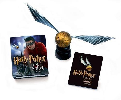 Harry Potter Golden Snitch Sticker Kit (Miniature Editions Kit)