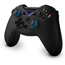 Gamepad / Joystick WeTek para sistemas Android (smart boxes, móviles y smartphones, tablet, mobile gaming), Gamefly, Windows PC USB 2.0 Bluetooth 2.1 Inalámbrico Wireless Batería de Litio