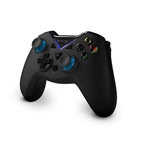 Gamepad / Joystick WeTek per sistemi Android (smart box, telefoni cellulari/ smartphone, tablet, giochi mobili), Gamefly, PC Windows USB 2.0 Bluetooth 2.1 wireless senza fili batteria al litio