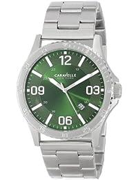 Bulova Analog Green Dial Men's Watch - 43B129