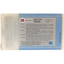 Ink Master - Cartucho compatible EPSON T6035 LIGHT CYAN T6035 para Epson Stylus Pro 7800 7880 9800 9880