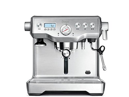 Sage Appliances SES920 Espresso-Maschine The Dual Boiler, Gebürstetes Edelstahl