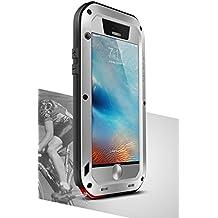 Carcasa para Apple iPhone 6S, Love Mei marca impermeable IPEGA metal de aluminio con integrado Gorila Protector de pantalla de cristal * two-years garantía *