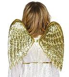 Alas de Ángel infantiles color oro 45 cm