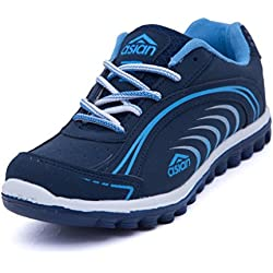 Asian Shoes Women's Navy Blue Sky Wave Range Running Shoes 8 Uk