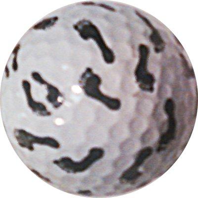 Footprint balle de Golf won't Chip Idée cadeau ou décoloration