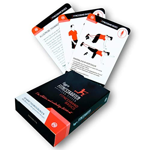 figgrs Trainingskarten Fitnessband Basics (50 effektive Übungen für den gesamten Körper)