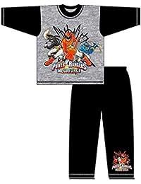 Ensemble Pyjama garçons Personnages Long Pantalon court T-shirt pour enfant Imprimé Cartoon Comic, Pj