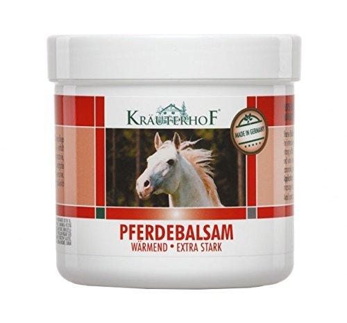 Pferde-Balsam Extra, Massagegel stark wärmend 500ml -