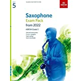 Saxophone Exam Pack from 2022, ABRSM Grade 5: Selected from the syllabus from 2022. Score & Part, Audio Downloads, Scales & S