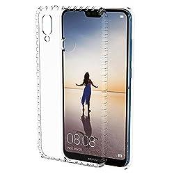 Hülle Für Huawei P20 Lite, Anewsir Handyhülle Für Huawei P20 Lite- Crystal Clear Ultra Dünn Durchsichtige Silikon Schutzhülle Tpu Case Für Huawei P20 Lite (Transparent)