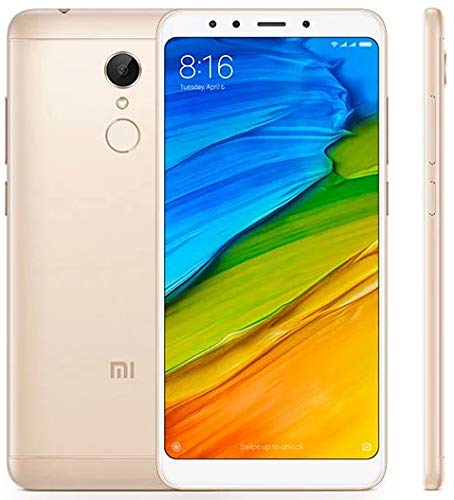 Xiaomi Redmi 5 Dorado Móvil 4g Dual Sim 5.7'' IPS Hd/8core/16gb/2gb Ram/12mp/5mp