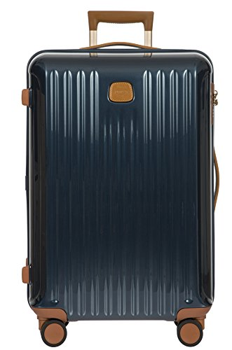 Bric\'s Capri Laptop Rollkoffer, 69 cm, Blau (Night Blue)