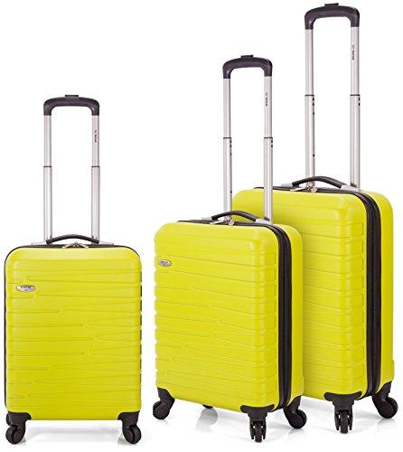 Benzi - Juego de maletas BZ5159 (Verde Lima)