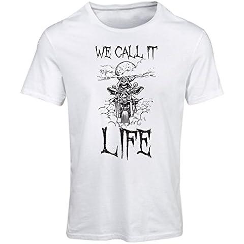 Camiseta mujer Lo llamamos Vida ropa de la motocicleta