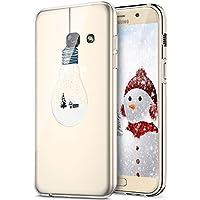 2bd4d0bf98bf9a Bao Compatible avec Coque Samsung Galaxy A3 2017,Coque Silicone TPU  Transparente Housse