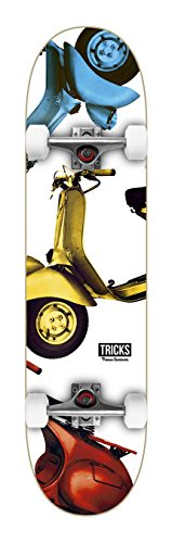 Tricks Vespa 8.0 Skateboard - Tape Skateboard Girl Grip