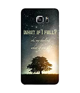 What If I Fall Samsung Galaxy Note 5 Edge Case