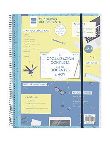 (Finocam Notizbuch des Lehrpersonals–Agenda, 310x 230mm)