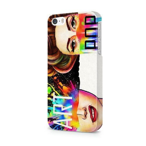 NEW* AS ROMA Tema iPhone 5/5s/SE Cover - Confezione Commerciale - iPhone 5/5s/SE Duro Telefono di plastica Case Cover [JFGLOHA006361] ARTPOP LADY GAGA#01