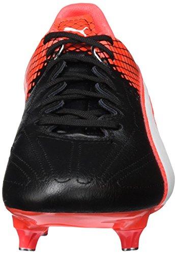 Puma Evospeed 3.5 Lth Sg, Chaussures de Football Compétition Homme Noir - Schwarz (black-puma White-Red blast 01)
