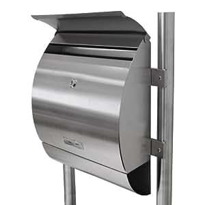 Grafner xxl acciaio inox design supporto cassetta altezza for Giornali arredamento casa