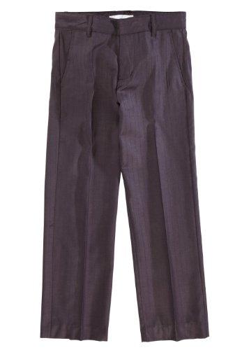 NAME IT kids festliche Anzug-Hose Panava anthrazit gestreift, Größe:104