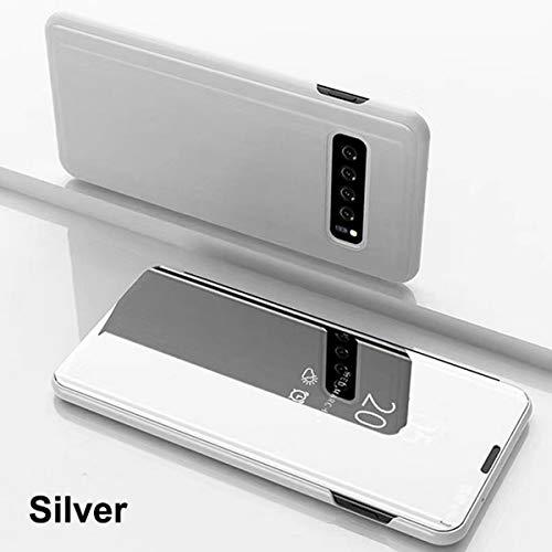 0b992747f5 Galaxy J8 2018 Case,Smart Mirror Flip Case Cover for Samsung Galaxy J8 2018  (