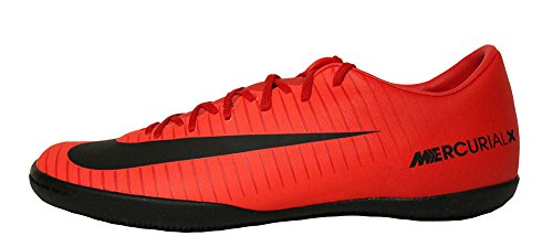 Nike Unisex-Kinder Jr Mercurial Vapor Xi IC Fußballschuhe, Mehrfarbig (University Red/Black-Bright CR 616), 35 EU (Fußball Schuhe Nike Mercurial Kinder)