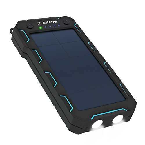 Caricabatteria Solare X-DNENG Caricatore Solare Power Bank...