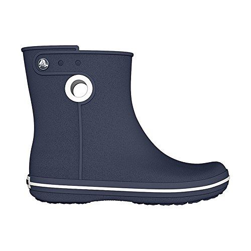 Crocs - Crocband Jaunt - Stivali in Gomma Corti - Donna Lampone