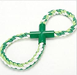 Larosso Creative Pet Dog Cat Eight Cotton Rope Toy Chew Training