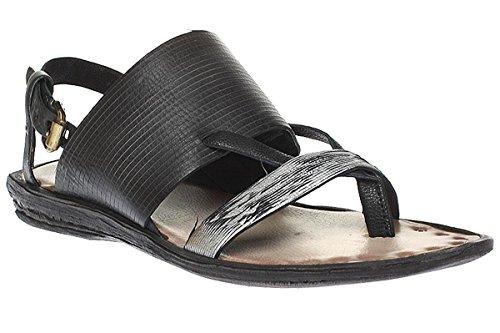 A.S.98 508002-0101 - Sandali Da Donna Pantofole - Nero 1, 38 EU