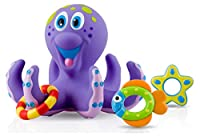 Nuby Octopus Floating Bath Toy (Multi-Coloured)