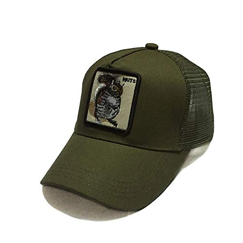 ier Stickerei Mesh Cap Baseball Cap Outdoor Sonnencreme Hip Hop Hip Hop benutzerdefinierte Kappe 16 56-62cm ()