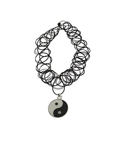 zac-de-alter-ego-ying-yang-sticker-pendentif-sur-collier-ras-du-cou-lastique-double-couche-noir-rtro